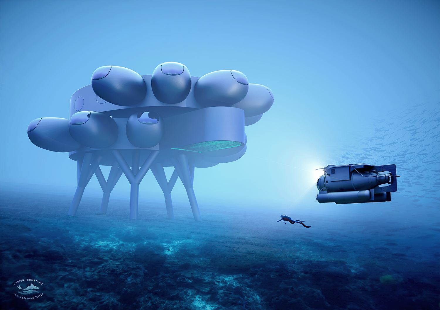 Proteus: underwater exploration at the dawn of a new Cousteau era