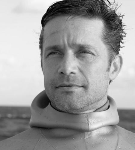 Fabien Cousteau B&W